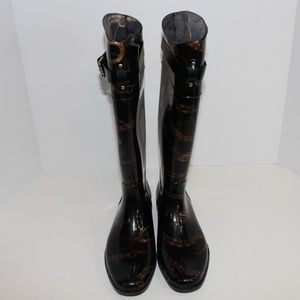 Ralph Lauren Shoes - Ralph Lauren Calf High Rain Boots size 10 New